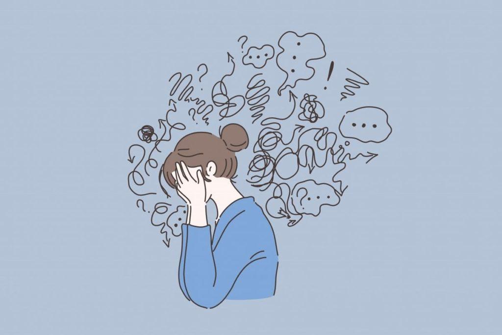 L'anxiété. Le messanger.